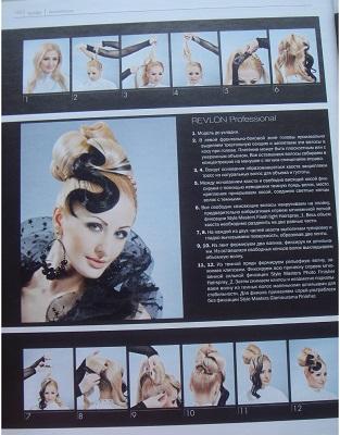 прическа, укладка волос
