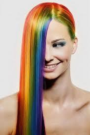 Цветные мелки для волос