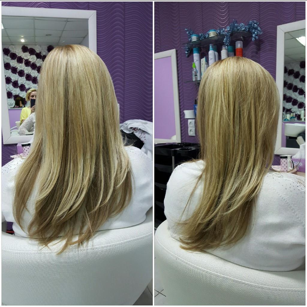 Покраска волос киев